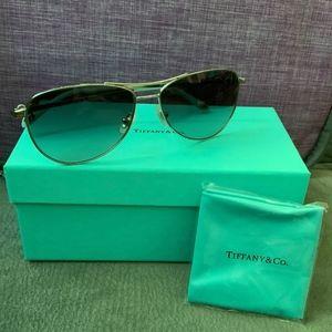 Authentic Tiffany & Co Aviator Knot Bow Sunglasses